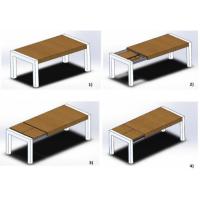 FOOT galda mehānisms