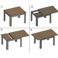 HEAD galda mehānisms
