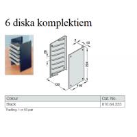 Disku turētājs, 6 komplektiem EUR 0.50